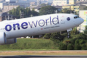 member of oneworld JAL(日本航空) B777-300ER JA732J